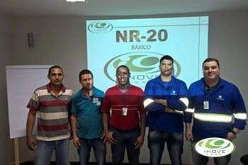 NR - 20 - COMBUSTÍVEIS E INFLAMÁVEIS