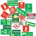 Projeto de sinalização de emergência