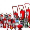 Sinalização de segurança combate a incendio
