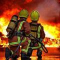 Treinamento de combate a incêndio
