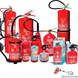 Extintor de incendio inspeção